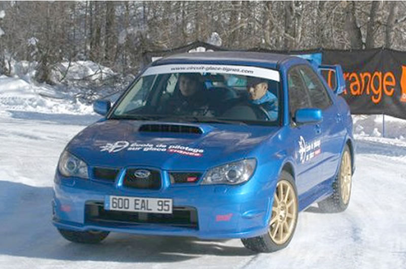 subaru ice driving