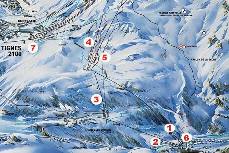 SkiBrev Tignes Ski Chalet Chalet La Sache luxury ski chalet Tignes