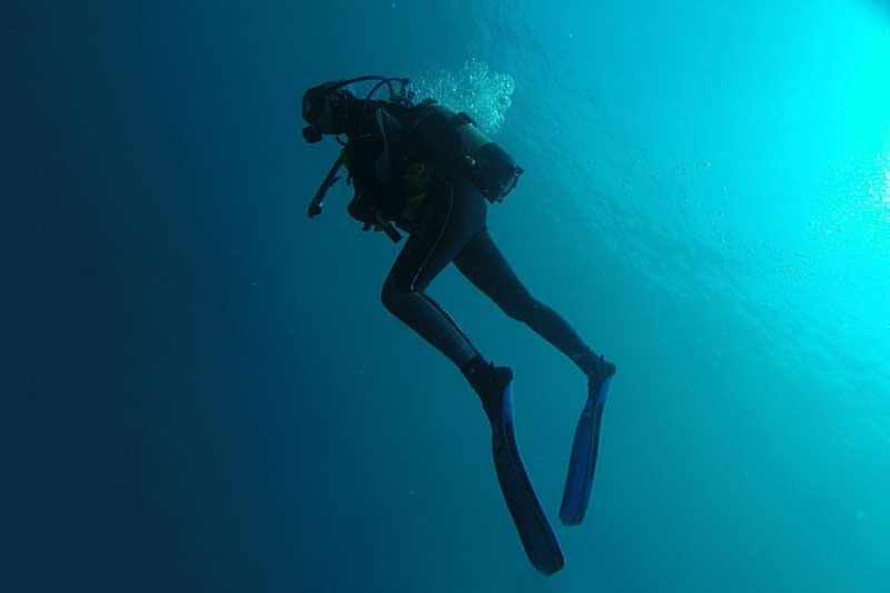 Ice Scuba diving